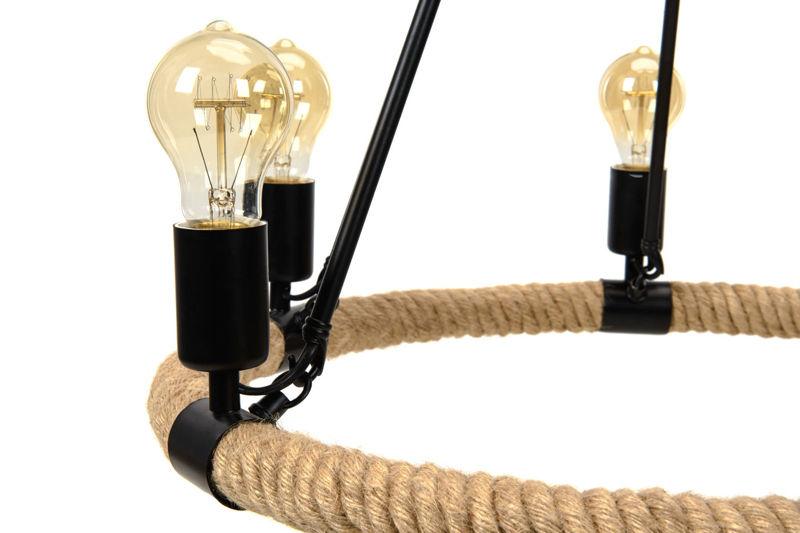 Pendant Lamp Hemp Rope - TUGUE 600