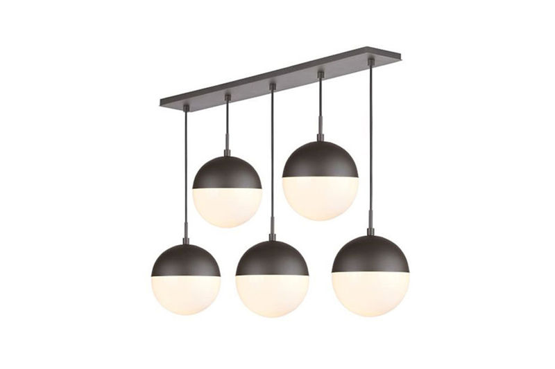 Pendant Lamp SVENSKA 5 - Rectangle Ceiling Plate