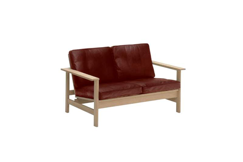 Sofa LIGEN 2 Osobowa Skóra Ekologiczna