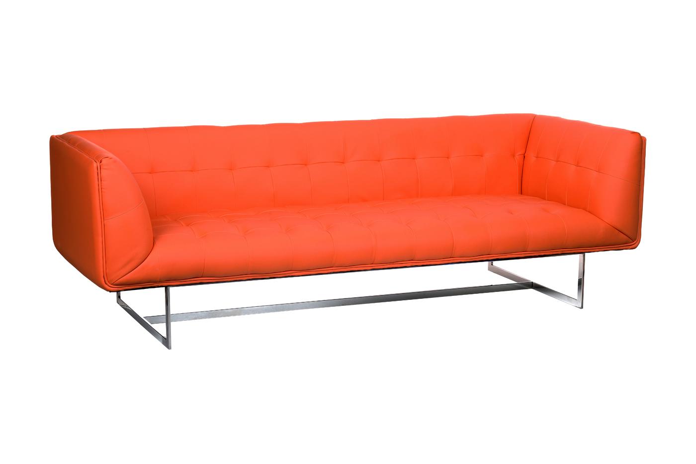 Ogromny Sofa EDWARD 3 Osobowa Skóra Ekologiczna - zFABRYKI.PL VU93