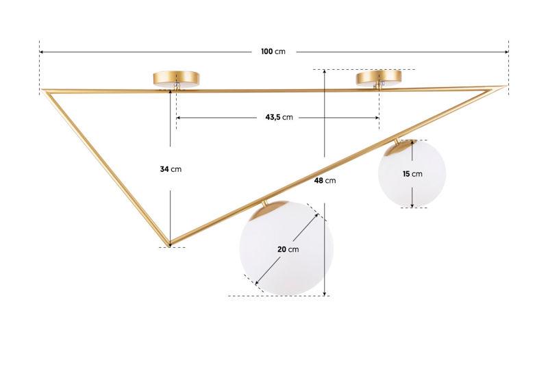 Lampa Sufitowa OPTRIO Model B