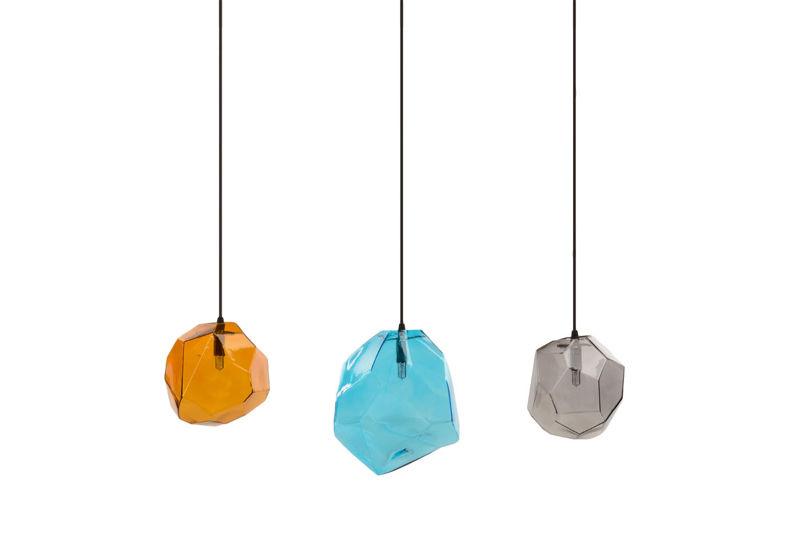Lampa Wisząca Kolorowe Klosze -  VENA 3