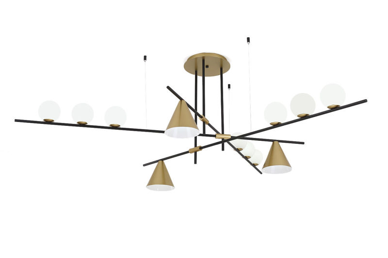 Lampa Wisząca NIGRIN 9