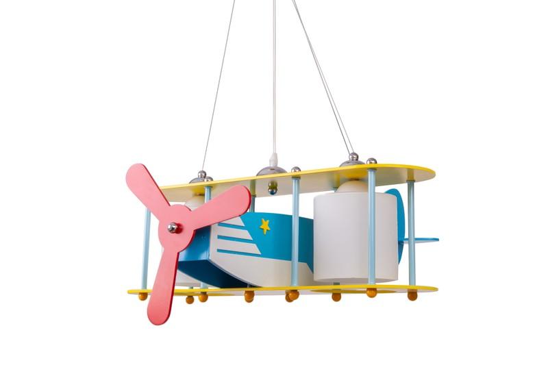 Lampa Wisząca Samolot HELIK Dla Dzieci