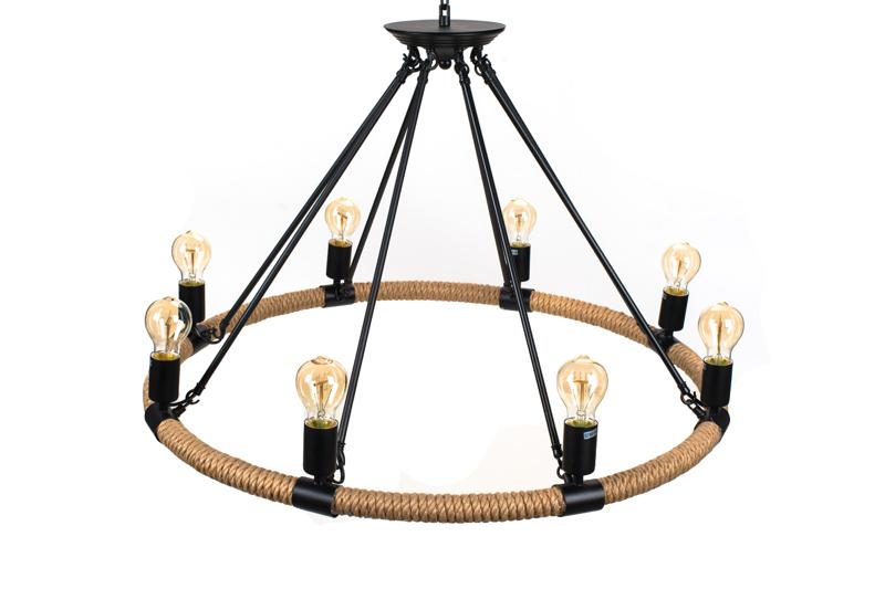 Lampa Wisząca Sznur Lina - TUGUE 830