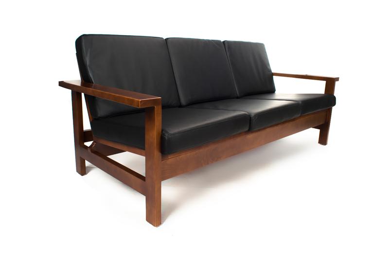 Sofa LIGEN 3 Osobowa Skóra Ekologiczna
