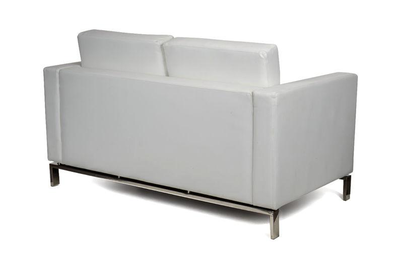 Sofa UNICOX 2 Osobowa Mniejsza Skóra Ekologiczna