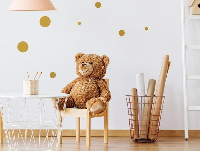 naklejki | kropki - komplet Pastelowe Love
